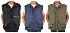 MEN'S SHOOTING, FISHING, HUNTING PADDED BODYWARMER WAISTCOAT GILET JACKET S-6XL