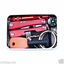 Survive Pack Outdoor Sport Camping Hiking Survival Emergency Gear Tools Box #01
