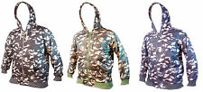 Mens Big Size Army Camouflage Camo Hoodie Size M-5XL