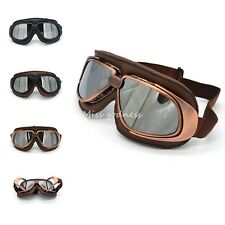 2016 New Arrival Copper Vintage Motorcycle Goggles Smoking Steampunk Goggles