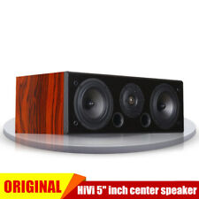 "HiVi 5"" inch Hi-Fi Passive Speaker DIY Audio Home Theater Center-Channel Speaker"