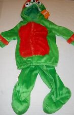 GYMBOREE Boy's Plush Green 3 Eyed Monster Costume Size 6-12 Months