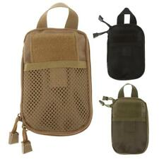 Outdoor Sports Camping Hiking Travel Cell Phone Pouch Molle Tactical Bag