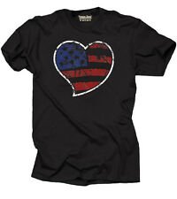 USA Flag 4th of July T-shirt Independence Day Tee shirt American Flag Heart Tee