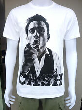 Johnny Cash Rock n Roll Country Men Printed T-Shirt Punk Rock Band Tees Size M L