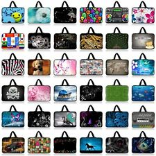"Hot Designs 13"" 13.3"" Soft Laptop Case Notebook Bag Pouch Cover Sleeve +Handle"