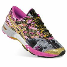 NEW Womens ASICS Gel-Noosa Tri 10 GR Gold Ribbon Running Shoes Size 8 Multi