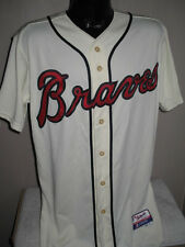 MLB Atlanta Braves Baseball Alternate On Field Cool Base Jersey Majestic  Mens