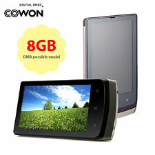 "New COWON Renovation of the  D3 Pro 8GB 3.7"" AMOLED [Black]"