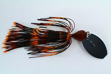 """Vibrating Venom Chatter Bait - 3/8 ounce - """"TIGER CRAW"""" - Bass/Pike/Fishing"""