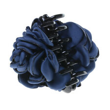 Fashion Fabric Rose Flower Large Hair Clamp Claw Clip Accessories Gift 4 Colors