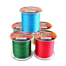 300M Super Strong PE Spectra 4 Braided Sea Fishing Fish Line Strand Wire 15-80LB