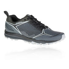 Merrell All Out Crush Shield Mens Grey Black Trail Running Shoes Trainers