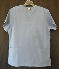 Cherokee Unisex Size Medium or Small Blue (CIEW) Scrub Top Style 4876 NWOT