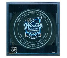 WINTER CLASSIC MONTREAL CANADIENS vs BOSTON BRUINS 2016 OFFICIAL GAME PUCK