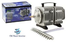 NEW COMMERCIAL AIR PUMP-HYDROPONIC-AQUARIUM-Fish-POND 18-200 Watt with Manifold!