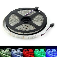 Super Bright 5050 RGB 60smd/M Flexible LED Strip Light Lamp Car Light IP65 12V