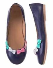 Gymboree Picture Day Blue Flats with Bows shoes 9 10 11 12 13 1 2 NEW Girls