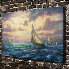 24x36inch Home Deco Oil Painting New Horizons,HD Art Print on Canvas(Unframed)
