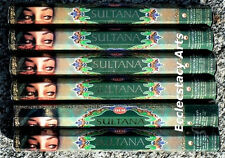 Hem Sultana Incense Sticks 20-40-60-80-100-120 Incense  U Pick Quantity