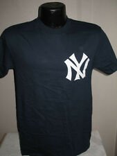 MLB New York Yankees Baseball Babe Ruth Jersey T Shirt Mens Majestic Cooperstown