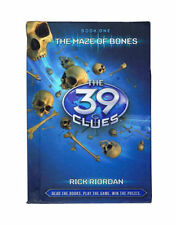 The 39 Clues: The Maze of Bones By Rick Riordan (2008, Hardcover) Free Shipping