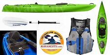 Wilderness Systems Pungo 120 Kayak - Deluxe Package - Lime