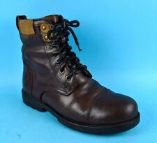 Peak Performance Brown Leather Womens Hiking Walking Boots Size 7 UK 40 EU