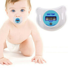 Infants LED Pacifier Thermometer Baby Health Safety Temperature Monitor Kids U