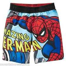 OLD NAVY Boys Swimsuit Size 18 24 months SPIDERMAN Swim Bottoms Baby NEW