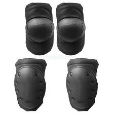 4 Pcs Tactical Protector Knee Elbow Pad Set Guard for Skateboard Mountaineering