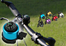 Multicolour Compass Metal Ring Handlebar   Bell Sound for Bike Bicycle New