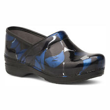 Dansko Pro XP Blue Hibiscus Patent Clog Women's sizes 36-42/6-12 NEW!!