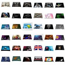 Green Print Black Mouse Pad Mice Mat Mousepad For Optical laser Mouse