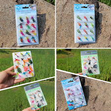 Fly Fishing Flies 12pcs/lot Trout Saltwater Freshwater Fly Fishing Flies Tackles