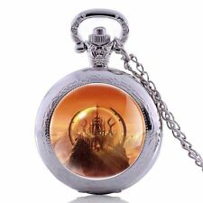 Doctor Who Gallifrey Chain Pocket Antique Gift Watches Quartz Pendant Steampunk