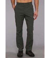 New Columbia mens stretch hiking active repellent UPF 50 casual pants Olive