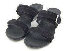 Vionic by Orthaheel Black Suede Wedge PREOWNED