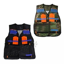 Tactical Vest Adjustable for Nerf N-Strike Elite Battle Game Series Dart Tag Kit