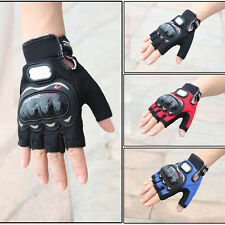 Motocross Racing Pro-Biker Motorcycle Cycling Protective Half Finger Gloves