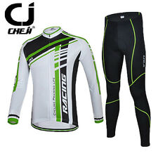 2016 New Winter Autumn Men's Bike Jersey Pants Cycling Long Sleeve Clothing Set