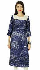 Indian Bollywood Designer Kurta Women Ethnic Kurti Cotton Top Tunic Dress