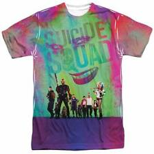 SUICIDE SQUAD Stand Off 100% Poly Allover Sublimation T-Shirt S-3XL