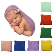 Crochet Knitted Cocoon Baby Photo Accessories Photography Prop Backdrop Dainty