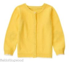 NWT GYMBOREE FLOWER SHOWER YELLOW DAISY KNIT CARDIGAN SWEATER 10/12
