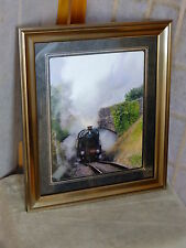 "6960 Modified Raveningham Hall 10 x 8"" Mounted & Framed Limited Edition"