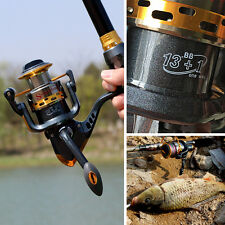 5.5:1 Spincasting Fishing Reel Bass Trout Fishing Tackle Reel 13+1BB for Fishing