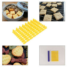 Cookie Cake Biscuit Mould Fondant Alphabet Number Letter Cutter Mold Tool DIY