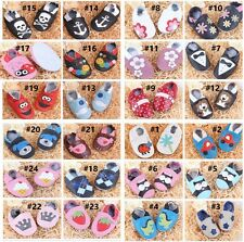 Leather Infant Baby boots Prewalker Boy Girl Baby Soft Sole Crib Kids Shoes C