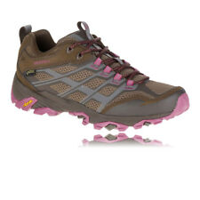 Merrell Moab FST Womens Gore Tex Trail Outdoors Walking Hiking Sports Shoes